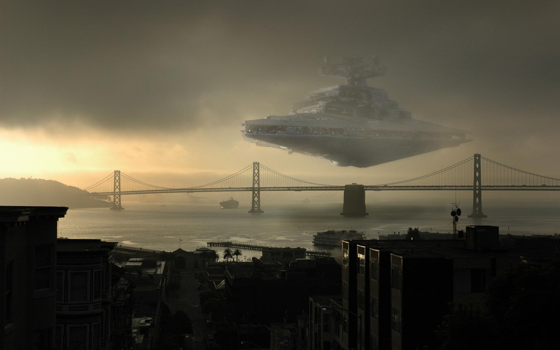 Star wars d barque sur terre - Paysage star wars ...