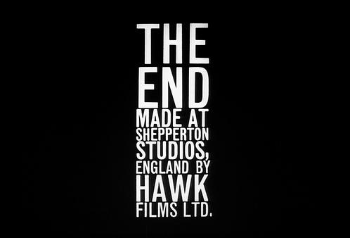 The End Dr Strangelove 12 The End en fin de film