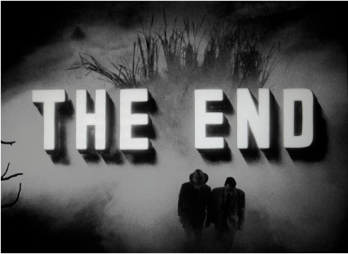 The End Gun Crazy 12 The End en fin de film