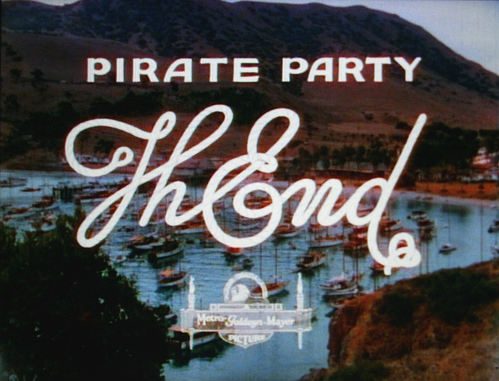 The End Pirate Party 12 The End en fin de film