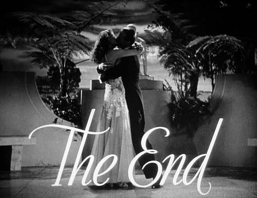 The End You Were Never Lovelier 12 The End en fin de film