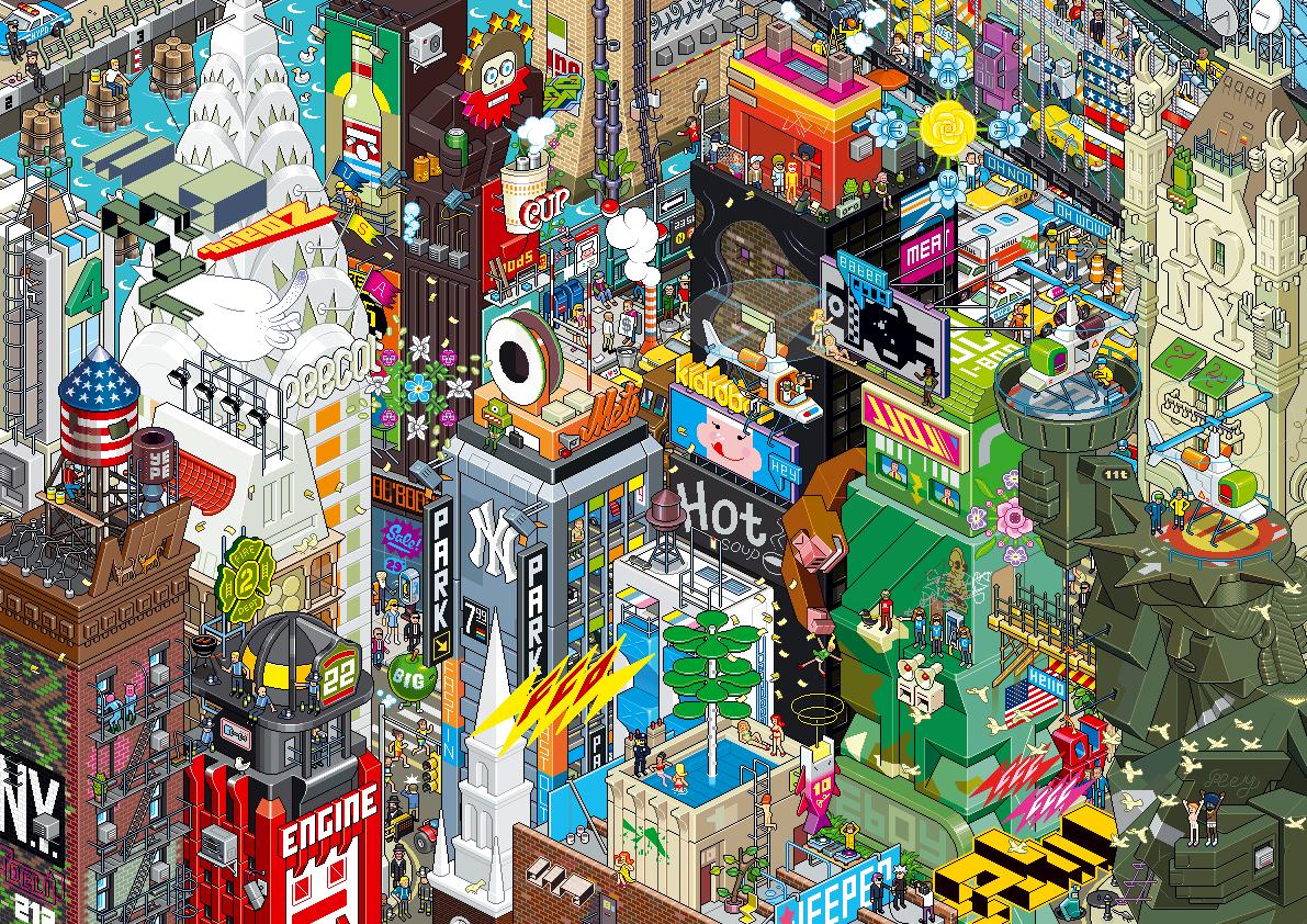 pixel art eboy