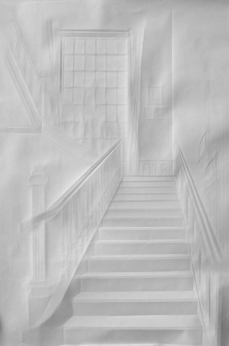 art papier pliage 02 Papier plié par Simon Schubert  art