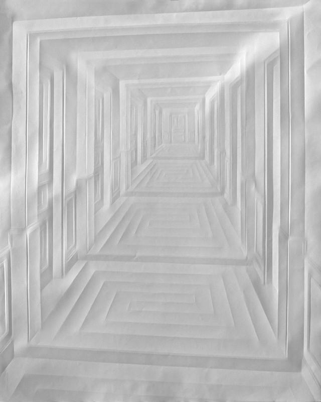 art papier pliage 03 Papier plié par Simon Schubert  art