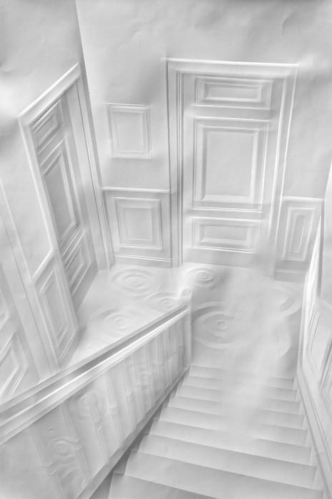 art papier pliage 05 Papier plié par Simon Schubert  art