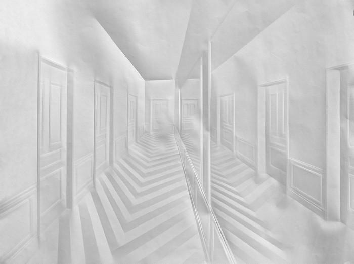 art papier pliage 08 Papier plié par Simon Schubert  art