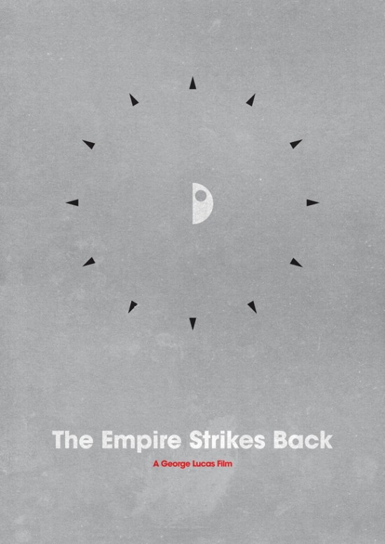 poster minimaliste star wars 1 Affiches minimalistes pour les Star Wars