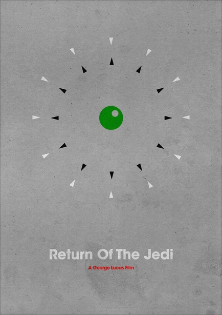poster minimaliste star wars 2 Affiches minimalistes pour les Star Wars