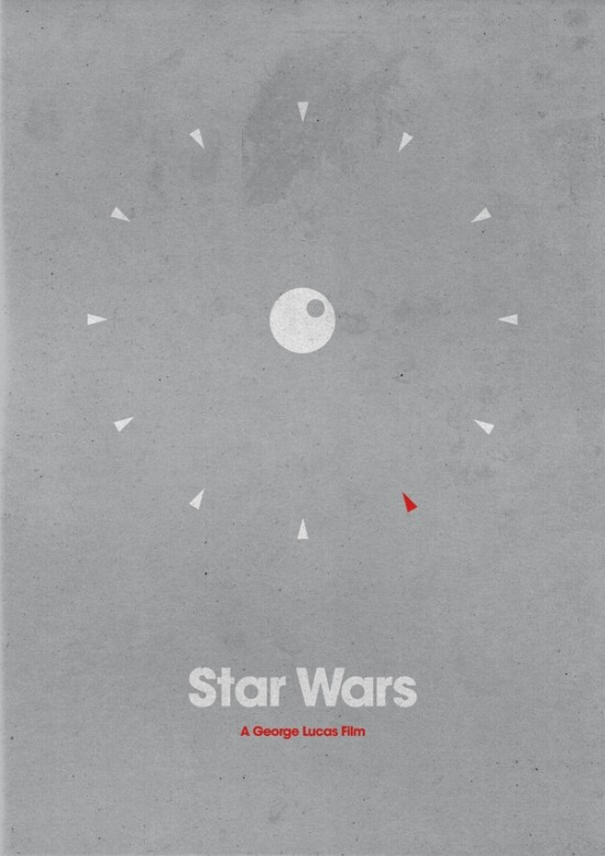 poster minimaliste star wars 3 Affiches minimalistes pour les Star Wars