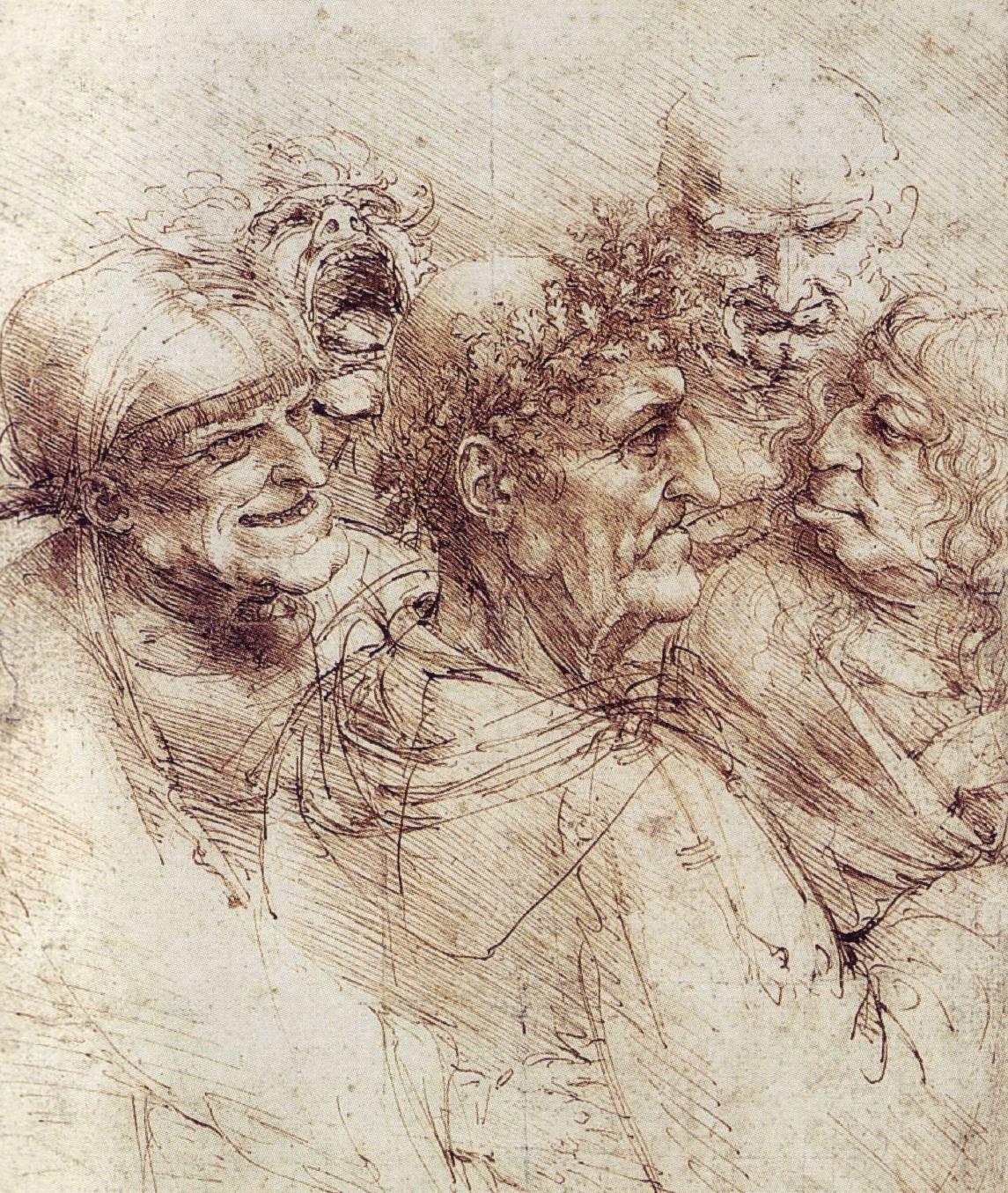 56 dessins de leonard de vinci - Photo leonard de vinci ...