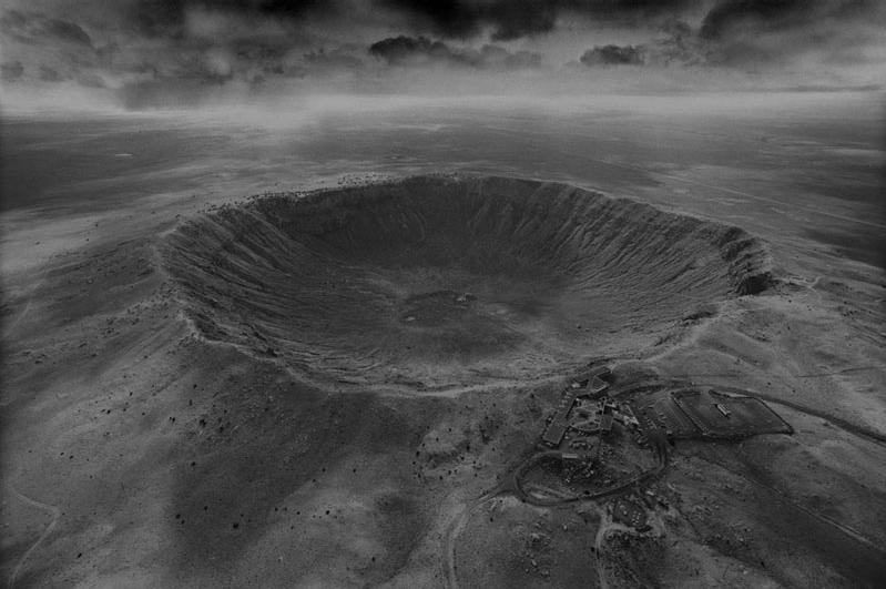 impact cratere meteorite stan gaz 1 Photographies de cratères créés par des impacts de météorites
