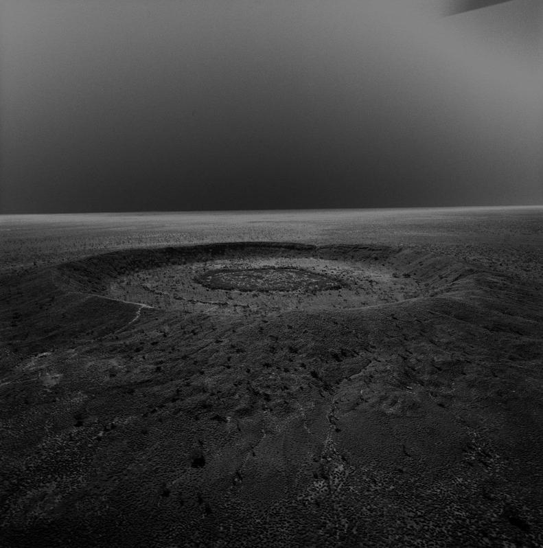 impact cratere meteorite stan gaz 3 Photographies de cratères créés par des impacts de météorites