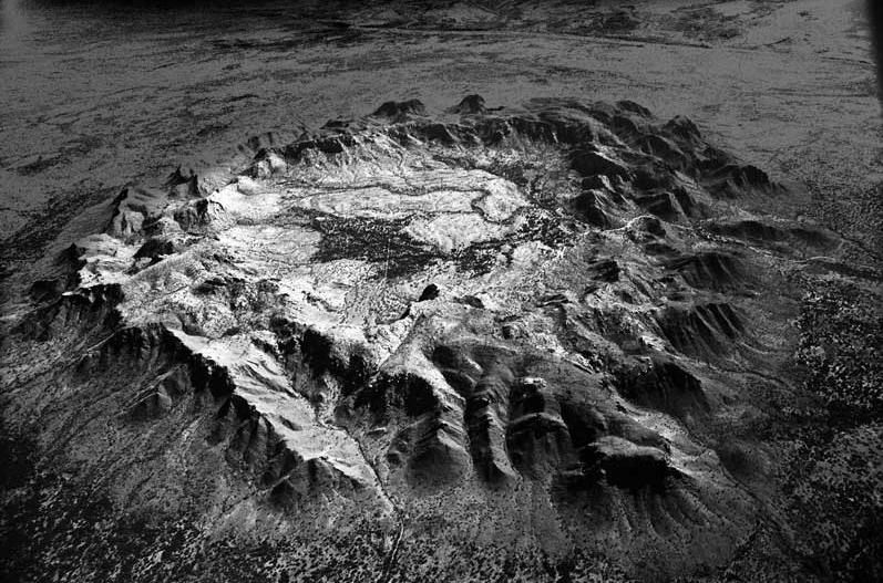 impact cratere meteorite stan gaz 4 Photographies de cratères créés par des impacts de météorites