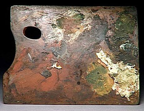 palette peintre degas Des palettes de peintres célèbres