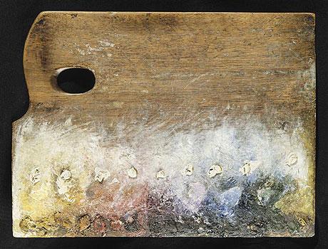 palette peintre seurat Des palettes de peintres célèbres