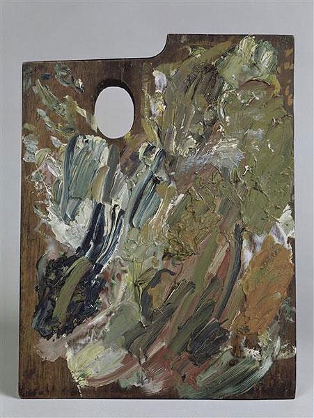 palette peintre vangogh Des palettes de peintres célèbres
