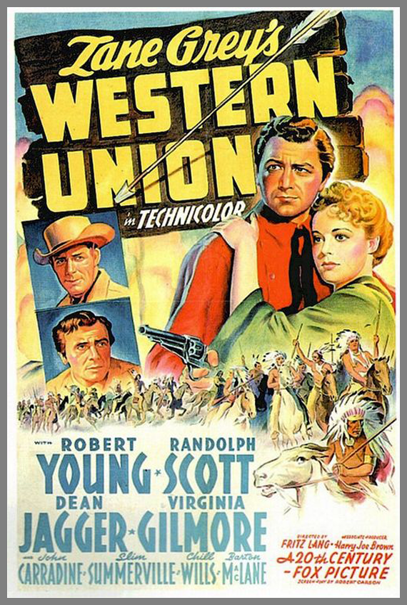 affiche poster film western 02 30 affiches de Westerns
