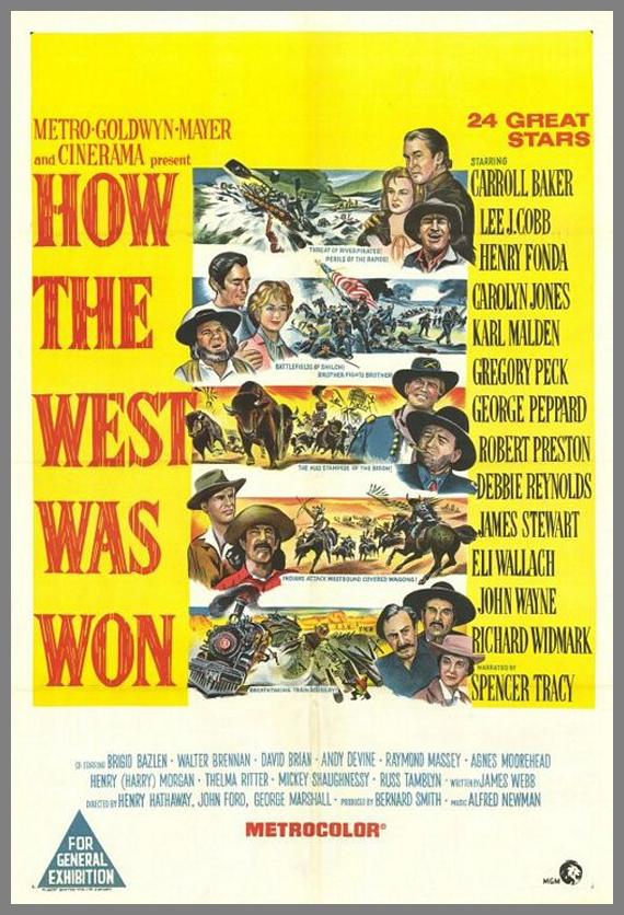 affiche poster film western 18 30 affiches de Westerns