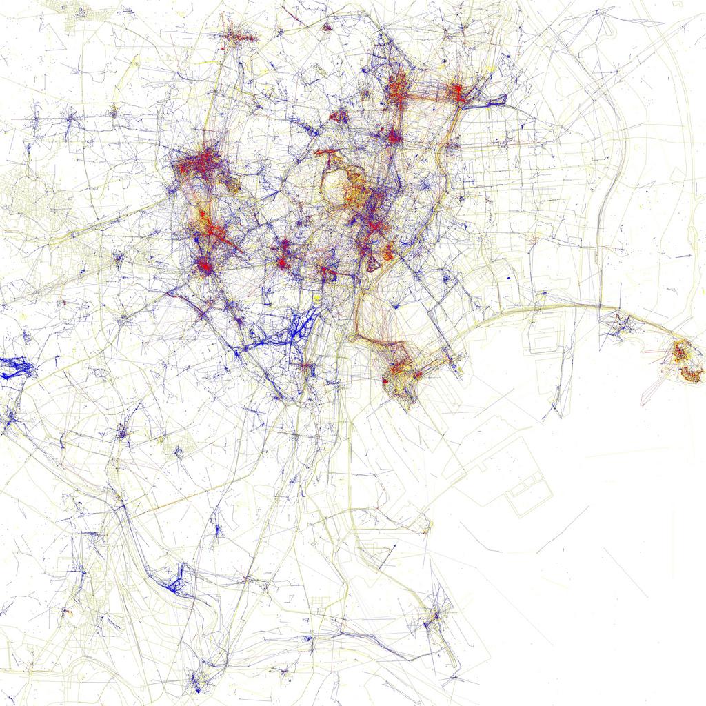 carte touriste Tokyo Cartes de villes par photographies de touristes ou dhabitants
