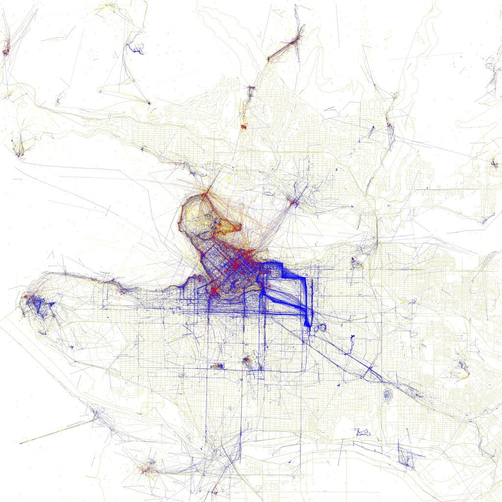 carte touriste Vancouver Cartes de villes par photographies de touristes ou dhabitants