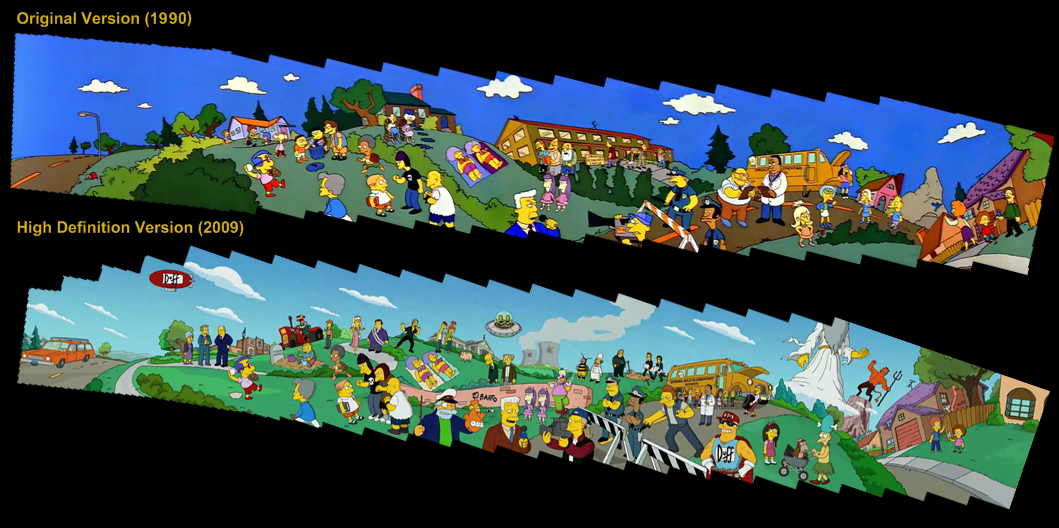 l233volution du g233n233rique des simpsons