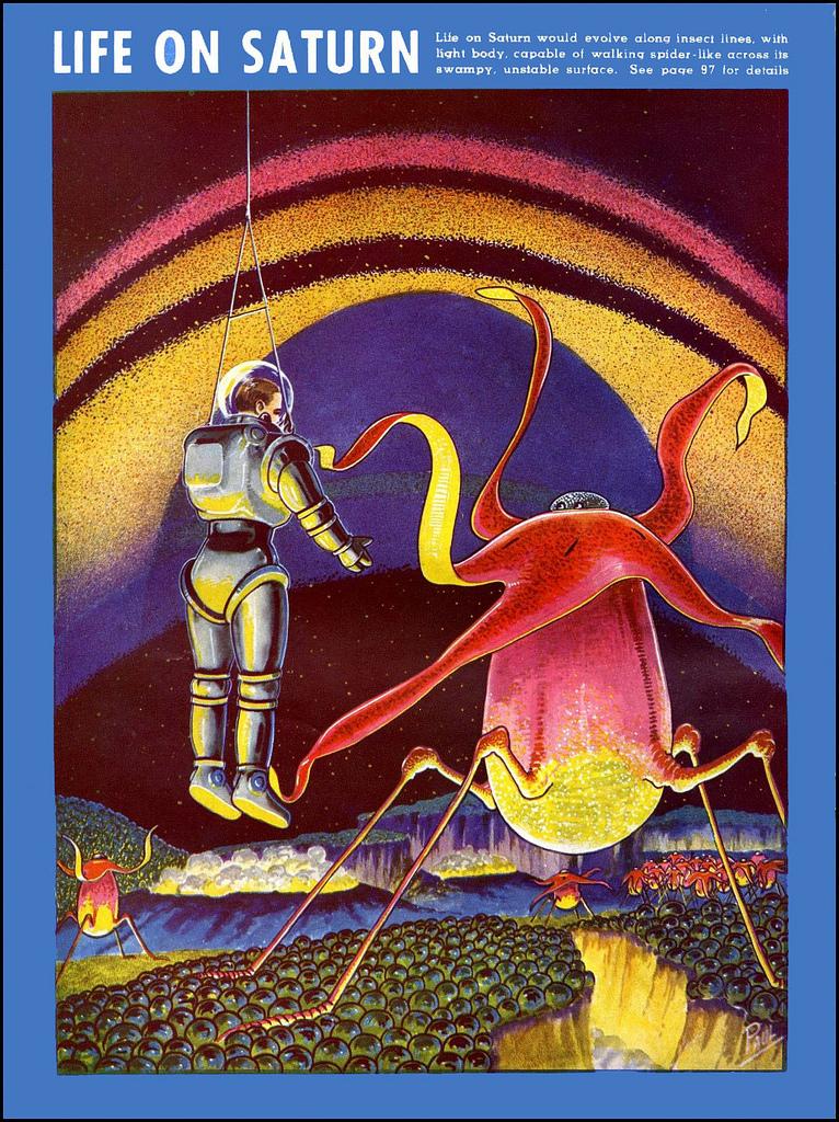 La vie dans le système solaire imaginée en 1940 Alien-systeme-solaire-1940-08