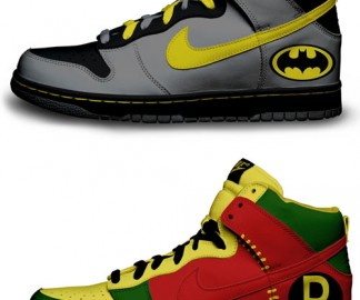 chaussure-nike-batman-robin