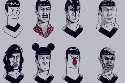 les visages spock