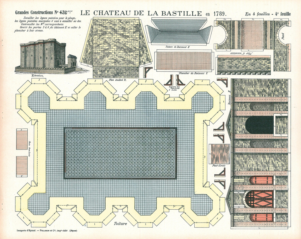 bastille paper Bastille 14 july is celebrated in france as bastille day it commemorates the  to  confiscate church property and issue new paper money, called assignats.