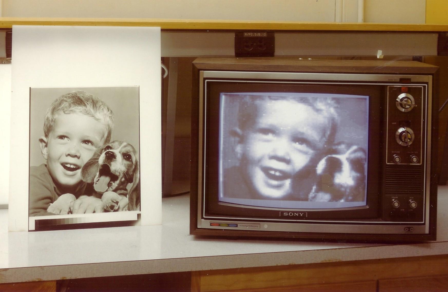 premier lecteur tirage photo numerique kodak Le premier appareil photo numérique
