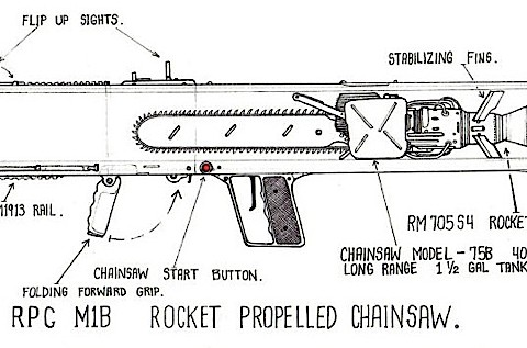 tronconeuse-bazooka