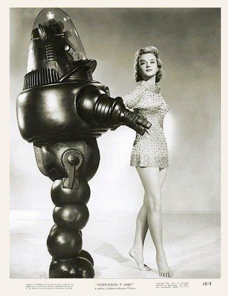 vintage femme pinup robot 02 Des femmes et des robots vintages