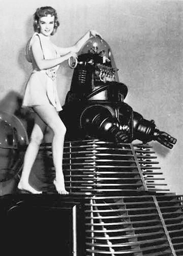 vintage femme pinup robot 03 Des femmes et des robots vintages