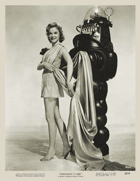 vintage femme pinup robot 09 Des femmes et des robots vintages