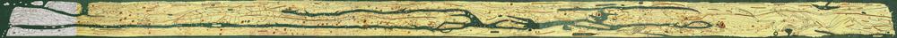Tabula Peutingeriana small Carte romaine de toutes les routes menant à Rome