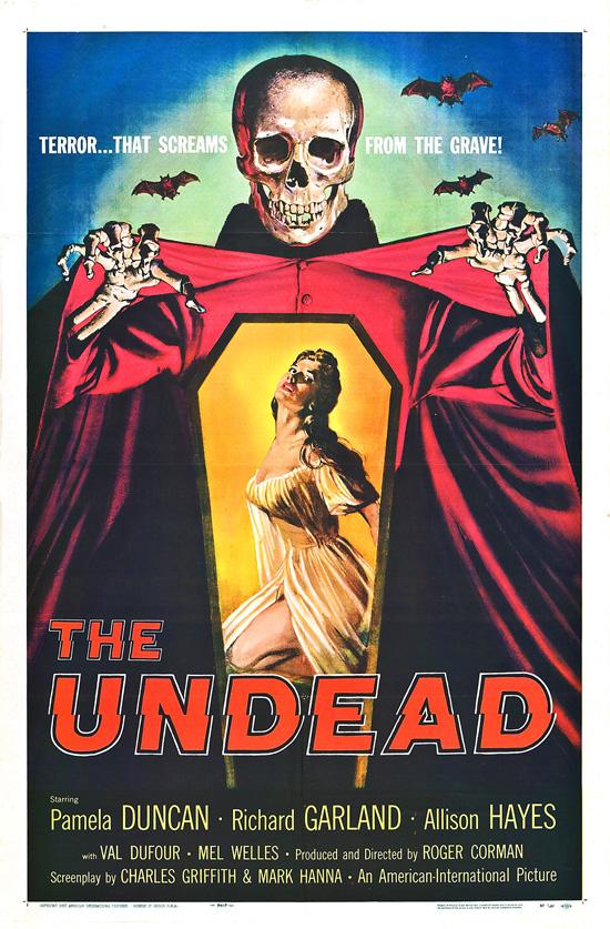 affiche vintage film horreur 1950 01 Affiches de films dhorreur des années 50  design