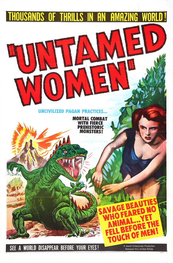 affiche vintage film horreur 1950 02 Affiches de films dhorreur des années 50  design