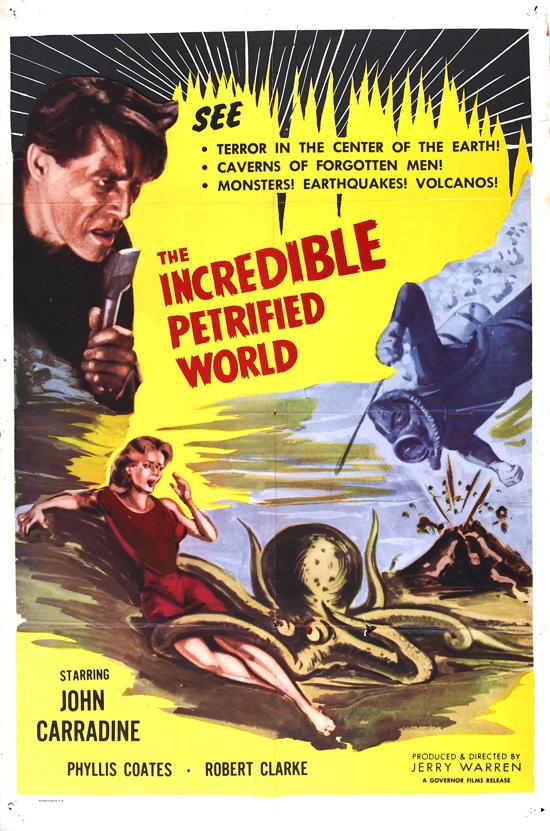 affiche vintage film horreur 1950 06 Affiches de films dhorreur des années 50  design