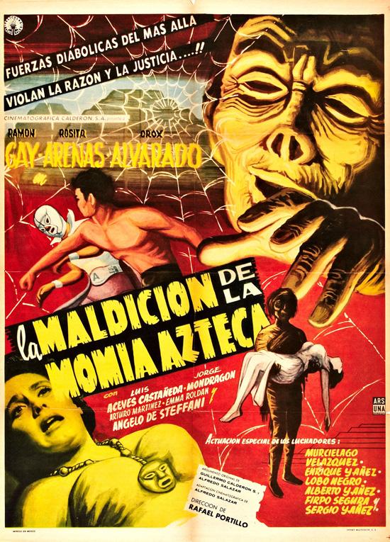 affiche vintage film horreur 1950 15 Affiches de films dhorreur des années 50  design