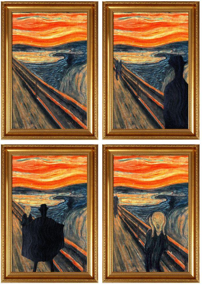 avant apres peinture explique 02 L'avant et l'après de peintures connues  featured divers design art