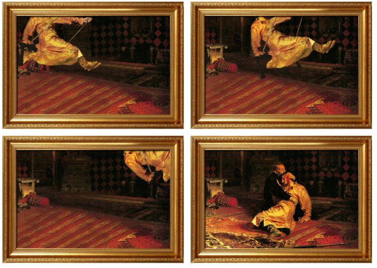 avant apres peinture explique 04 L'avant et l'après de peintures connues  featured divers design art