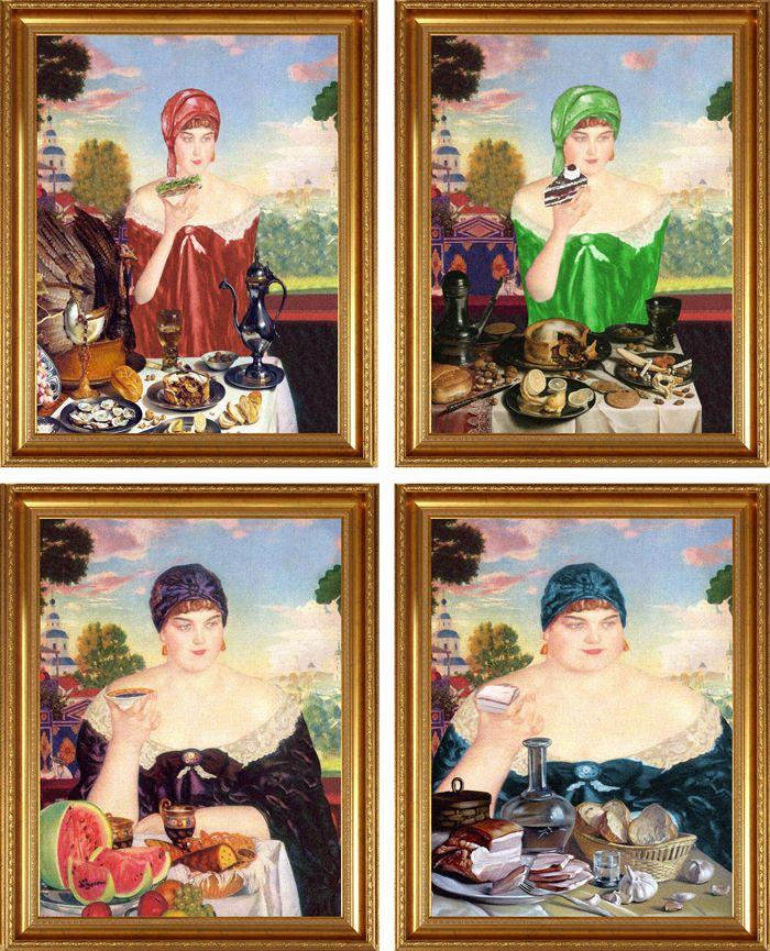 avant apres peinture explique 05 L'avant et l'après de peintures connues