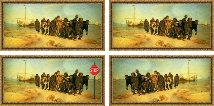 avant apres peinture explique 06 L'avant et l'après de peintures connues