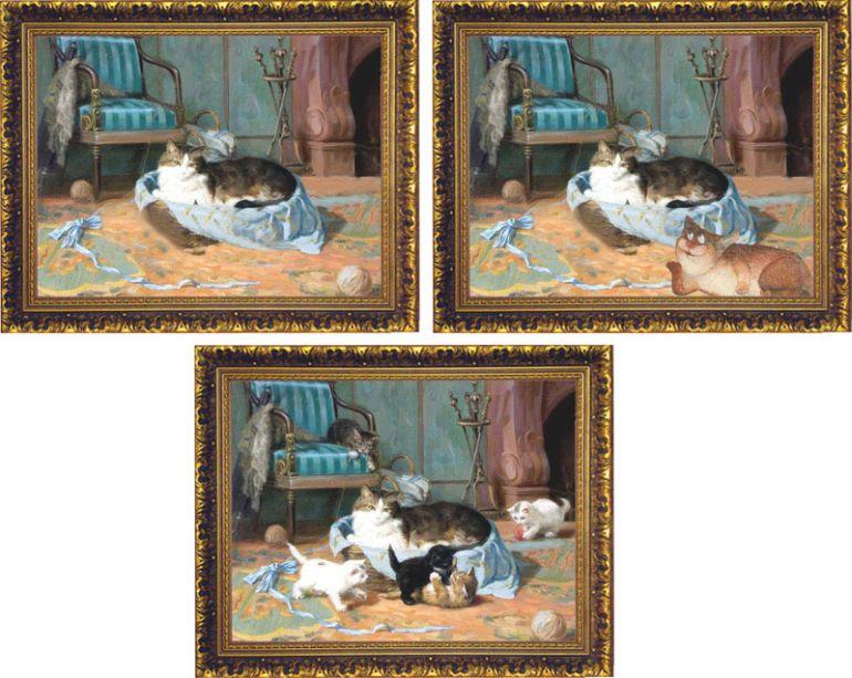 avant apres peinture explique 09 L'avant et l'après de peintures connues