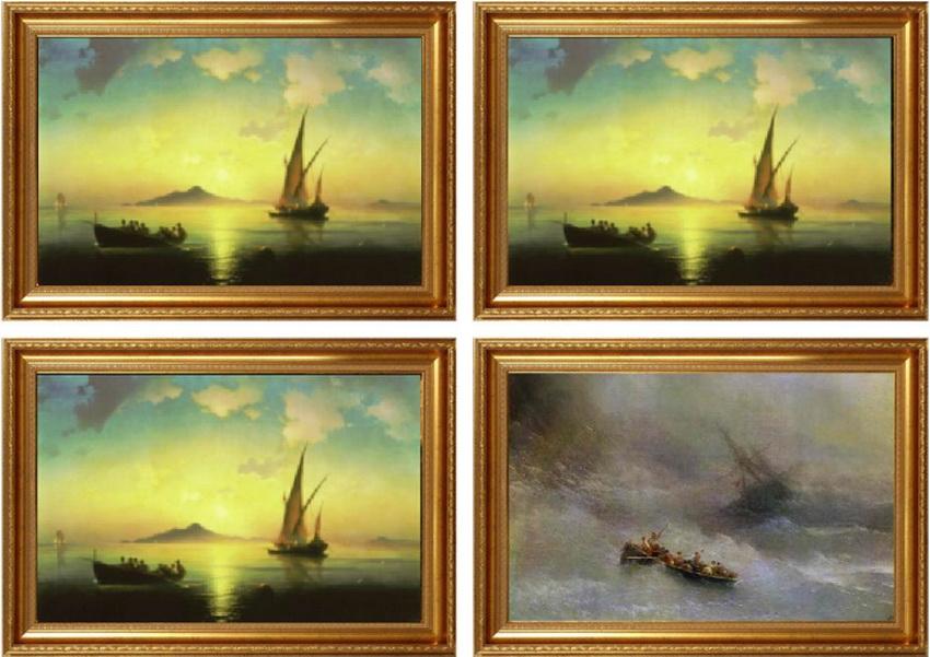 avant apres peinture explique 11 L'avant et l'après de peintures connues  featured divers design art