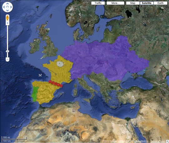 carte europe an 0