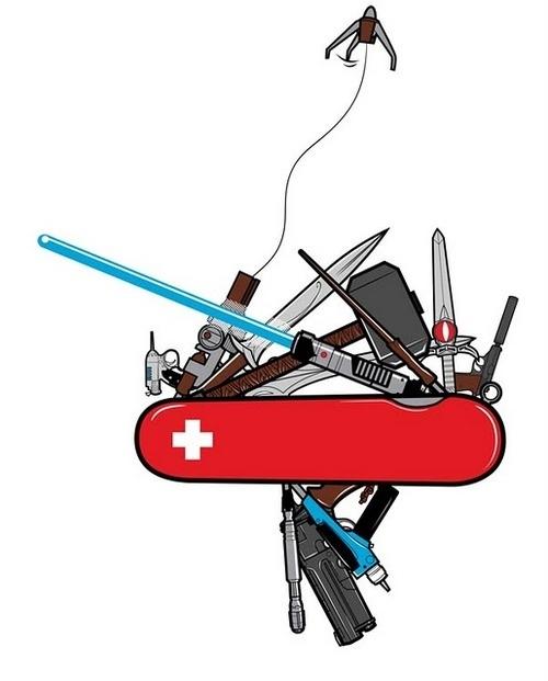 Couteau suisse de geek