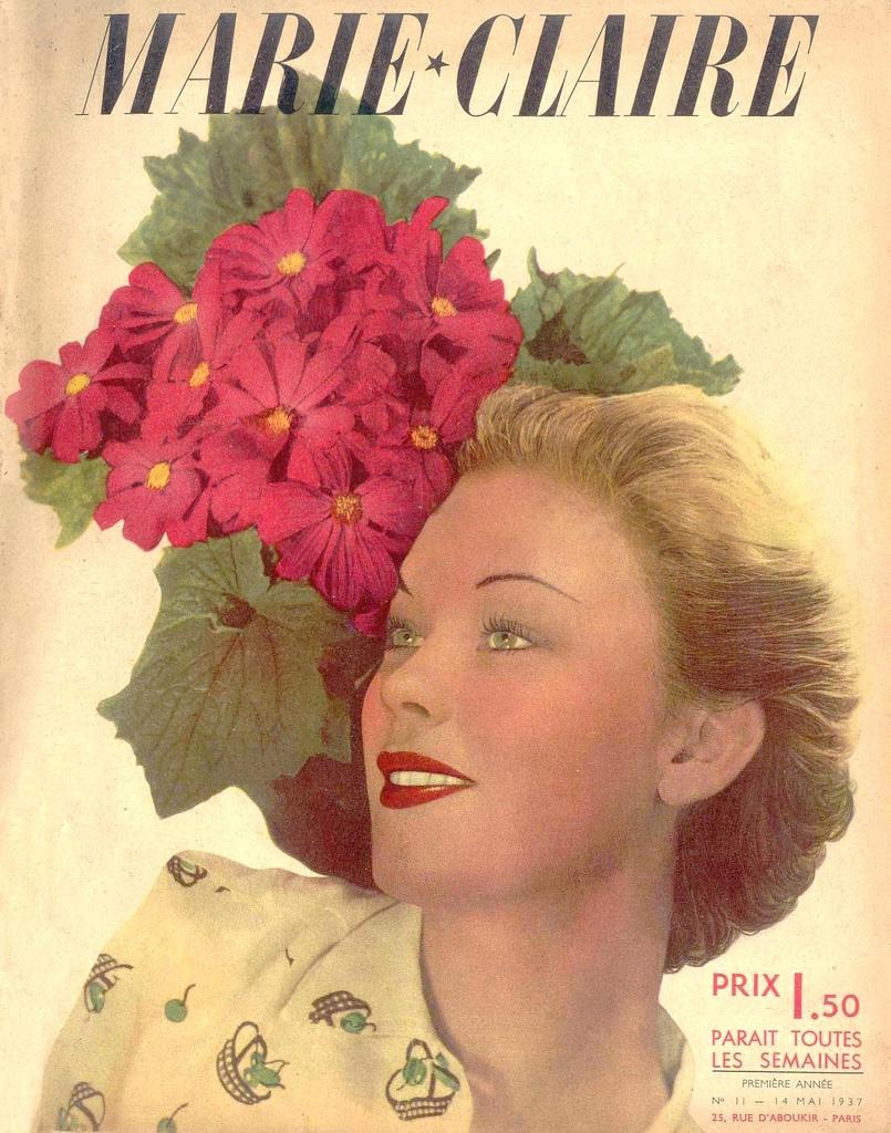 couverture vintage magasine marie claire 03 27 couvertures du magazine Marie Claire