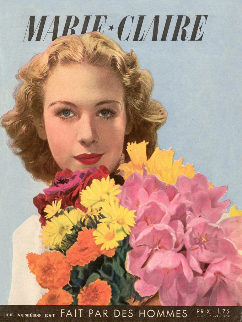 couverture vintage magasine marie claire 04 27 couvertures du magazine Marie Claire