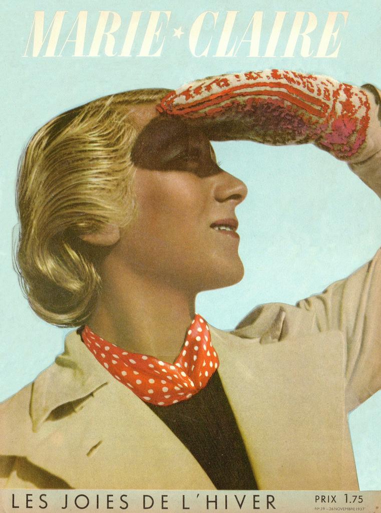couverture vintage magasine marie claire 09 27 couvertures du magazine Marie Claire